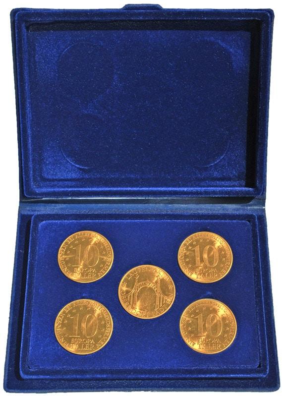 Die Europataler Münzen