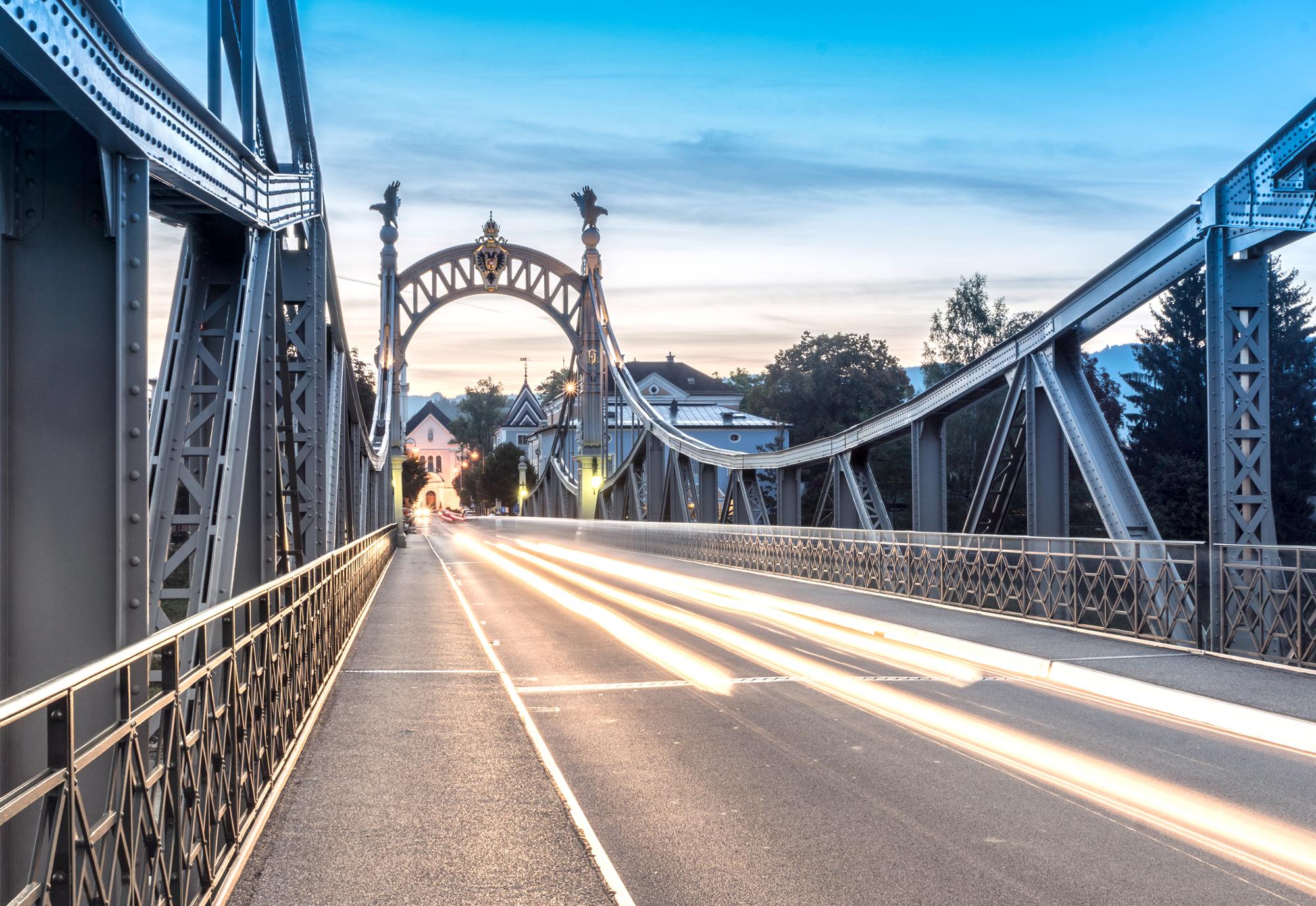 Brücke über die Salzach