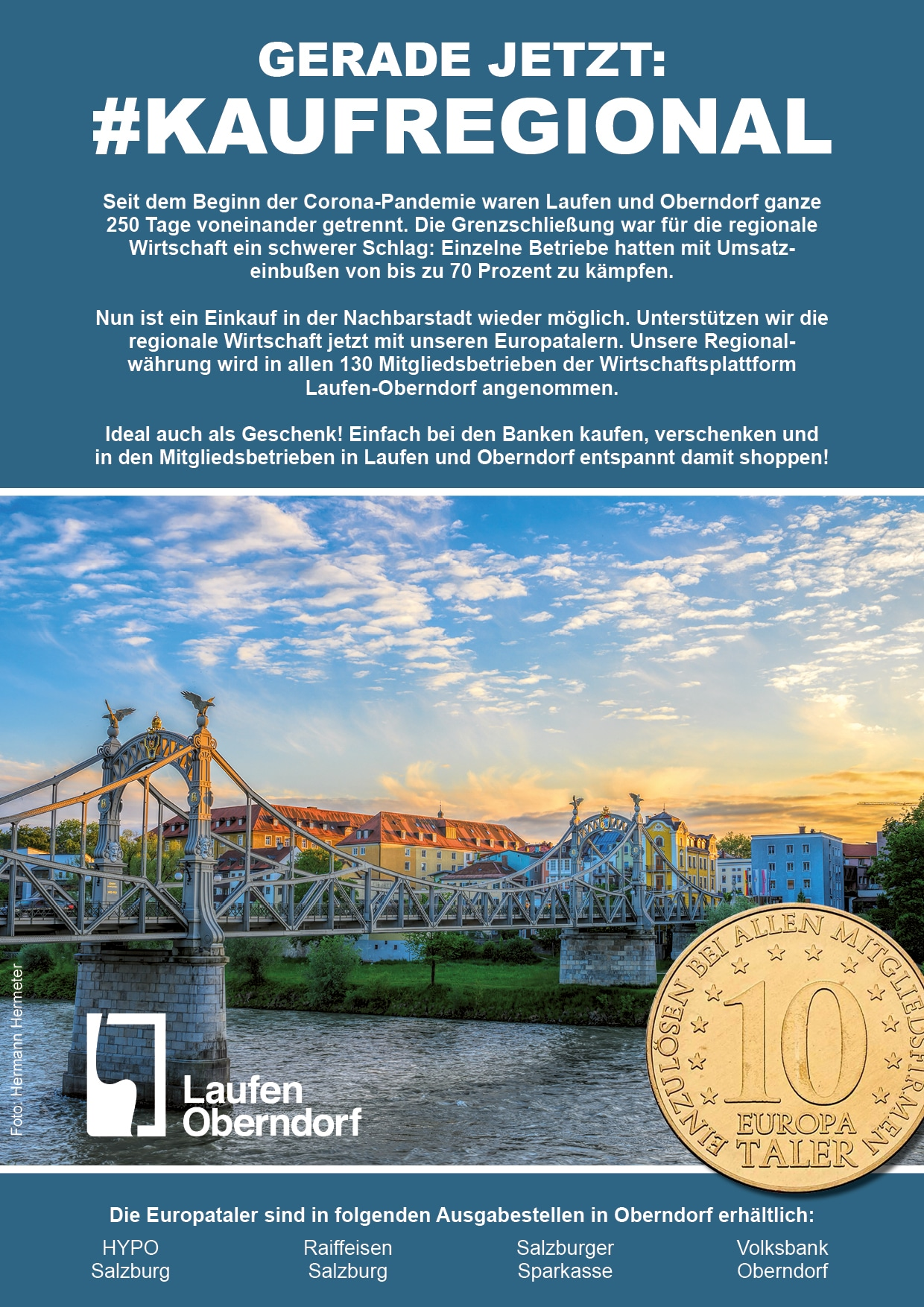 Salzachbrücke Europataler Mai 2021